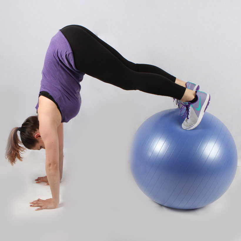 Exercise Ball Muscle Training